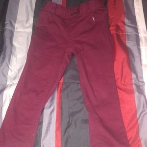 Garanimals boys burgundy pant 4T
